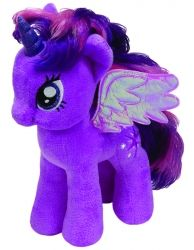 Плюшена играчка TY, My Little Pony - Twilight Sparkle, 18 cm