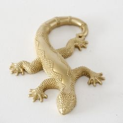 Декорация за стена Stars Home Gold Lizard Bijan, 3 х 15 х 21 см
